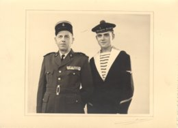 MILITAIRES MARINE A IDENTIFIER - PHOTO 17x12,5 Ms - - Krieg, Militär