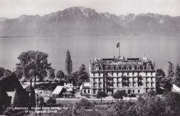 Montreux (Suisse) - Grand Hôtel Continental Et Les Alpes De Savoie - VD Vaud