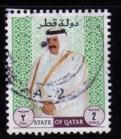 Qatar 1996 Sheikh Ibn Khalifa Ath Thani 2 R Used Oblitéré - Qatar