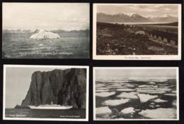 SPITZBERG (Norvège)Gros Lot De 10 Photos 12,5 X 17,8 Cm. +1 Photo Avec 2 CPSM Photos Neuves + - Norvège