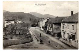 Le Thillot Avenue De La Gare - Le Thillot