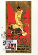 48993 San Marino, Maximum 1999  Giacomo Puccini,  Tosca Opera Festival, - Musik