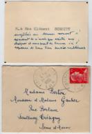 VP16.051 - CDV - Carte De Visite - M. & Mme Clément SCHMITT à FONTENAY - TRESIGNY - Visitekaartjes