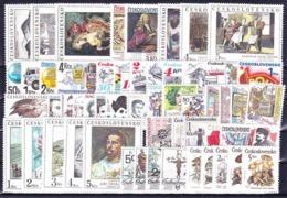 Tchécoslovaquie Timbres Et Séries Complete, (MNH)** - Stamps