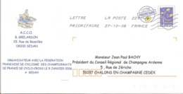 2006 Championnats De France De Cyclo-Cross à Sedan :entier Postal ,P A P - Radsport
