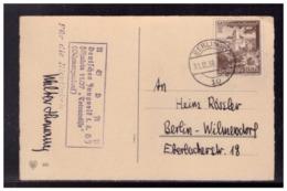 Dt- Reich (008529) Propaganda AK Mit HJ Lagerstempel Deutsches Jungvolk I.d HJ, Fähnlein11/37, Totenwölfe, Schmargendorf - Allemagne