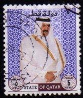 Qatar 2010 Sheikh Ibn Khalifa Ath Thani 5 R Used Oblitéré - Qatar