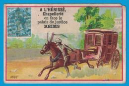 IMAGE A L'HERISSE DE REIMS CHAPELLERIE EN FACE LE PALAIS DE JUSTICE / INDE - Other