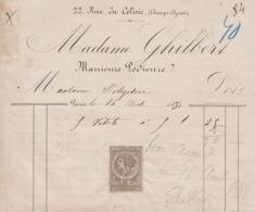 ** MADAME GHILBERT.- PARIS.-1881.- ** - 1800 – 1899
