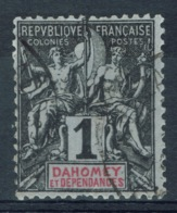 "Dahomey (Benin), 1c., ""Groupe"", 1901, VFU - Dahomey (1899-1944)"