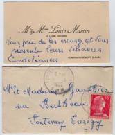VP16.052 - CDV - Carte De Visite - M. & Mme Louis MARTIN Et Les Enfants à FONTENAY - TRESIGNY - Visitekaartjes