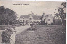 Carte 1910 RIEC SUR BELON / LE GUILLY (château) - Autres Communes