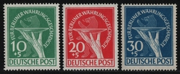Berlin 1949 - Mi-Nr. 68-70 ** - MNH - Währungsgeschädigte (I) - [5] Berlino