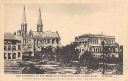 Asie   Birmanie .     Rangoon   New Cathédrale      ( Voir Scan) - Myanmar (Birma)