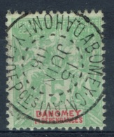 "Dahomey (Benin), 5c., ""Groupe"", 1901, VFU Nice Postmark From ABOMEY-CALAVI - Dahomey (1899-1944)"