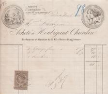 ** ACHETE' A HOUBIGANT CHARDIN.- PARIS.-1881.- ** - 1800 – 1899
