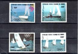 Comores Nº Aereo 197-200 Olimpiadas, Serie Completa En Nuevo 11 € - Juegos Olímpicos