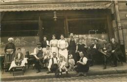 CARTE PHOTO A Localiser  RESTAURANT ALBERT  Facade Café Restaurant  (SOMME ?) - Fotografia
