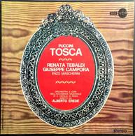 """AF DOPPIO LP 33 Giri """"TOSCA"""" Di Giacomo Puccini - Tebaldi, Campora, Mascherini - Opera"""