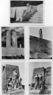 DEPT 62 : Vimy Mémorial Canadien Lot De 5 Petites Photos + 3 De Tranchée Qui Se Trouvé Avec ,  Certainement D Un Carnet - France
