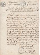 1789 - RIEZ (04) Extrait De Décès De Messire Henri César De CASTELLANE, Marquis De MAJASTRES, Seigneur D'Arlane, - Historische Documenten