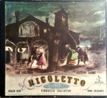"""AF BOX COFANETTO Contenente 3 LP 33 Giri """"RIGOLETTO"""" Di Giuseppe Verdi - Oper & Operette"""