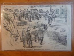 CPA - Catastrophe De Courrières 1906 - Funérailles Des Victimes - Illustrateur Goffinet (Liège) 1915 - Funérailles