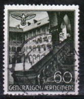 Poland German Occupation 60g Views Stamp From 1940. - General Government