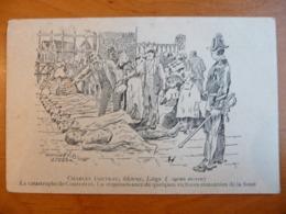 CPA - Catastrophe De Courrières 1906 - Reconnaissance De Victimes - Illustrateur Goffinet (Liège) 1915 - Catastrophes