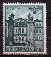 Poland German Occupation 1z Views Stamp From 1940. - General Government