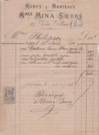 ** ROBES & MANTEAUX.- PARIS.-1881.-** - 1800 – 1899