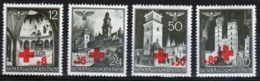 Poland German Occupation Set Of Red Cross Fund Overprints From 1940. - General Government
