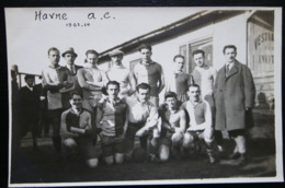 CPA FOOTBALL HAVRE A.C. 1923-24 LEGENDEE - Soccer