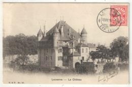 LAUSANNE - Le Château - BF 29 - 1906 - VD Vaud