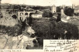 Cpa LUXEMBOURG - VILLE, Vue Prise Du Pont Du Château - NELS - Luxembourg - Ville