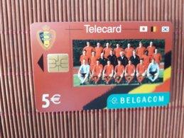 Phonecard Belgium Football Used - Belgique