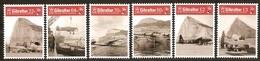 Gibraltar 2018 Micheln°  1858-1863 *** MNH  RAF Avions Airplanes Vliegtuigen - Gibilterra