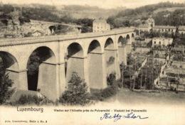 Cpa LUXEMBOURG - VILLE, Vue Sur L'Alzette Près De Pulvermühl - NELS - Luxembourg - Ville