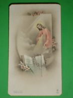FB 1601/ Anno 1960 CASSANO D'Adda BERGAMO /50°Religiosa  ISTITUTO CANOSSIANO -  Santino Vecchio Bonella - Images Religieuses