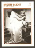 PORTRAIT DE STAR 1955 FRANCE - ACTRICE BRIGITTE BARDOT Dans ET DIEU CRÉA La FEMME - ACTRESS CINEMA FILM PHOTO - Fotos