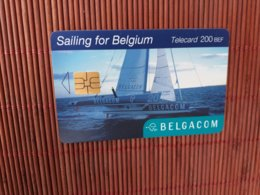 Phonecard Belgium Sailing OK 31.10.2003 Used - Belgique