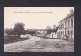 Peu Courante Margny (51) Entree Du Village Route De Corrobert ( Animée Café Billard Phot. Olivier ) - France