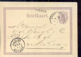 Arnhem - Kleinrond 19 AUG 77 - Dieren Langstempel - Postal History