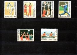 Congo Nº 1035-40 Olimpiadas, Serie Completa En Nuevo 8,50 € - Verano 1996: Atlanta