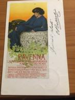 CARTOLINA PROMOZIONALE  MOSTRA  RAVENNA 1904  ILL. DUDOVICH - Fiere
