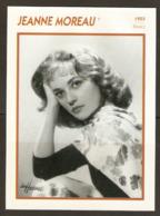 PORTRAIT DE STAR 1955 FRANCE - ACTRICE JEANNE MOREAU - ACTRESS CINEMA FILM PHOTO - Fotos