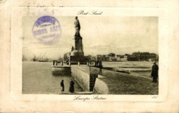 Port Said, Place Ferdinand De Lesseps  Egypte Egypt EGYPTE - EGYPT - Puerto Saíd