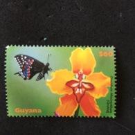 GUYANA. MNH. 5R1309B - Orchideeën