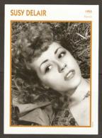 PORTRAIT DE STAR 1955 FRANCE - ACTRICE SUSY DELAIR - ACTRESS CINEMA FILM PHOTO - Fotos