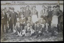CPA FOOTBALL S.C.A. ANGOULEME 1915/1916 - Calcio